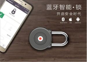 2019 Newest Anti-theft Keyless APP Unlock suitcase security lock Smart Bluetooth Pad Lock