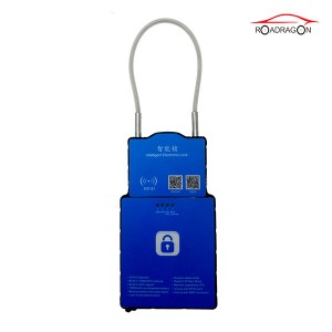 Express cargo monitoring Remote Control Padlock NFC RFID 3G Logistic lock