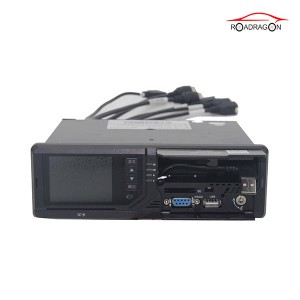 New released 8CH All in one model SP5 Integrated ADAS&DSM and built-in Printer MDVR
