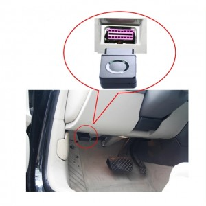 GPS+GSM+SMS/GPRS OBD2 Sim Card GPS Tracker Car Tracking Device Real timeTracking System