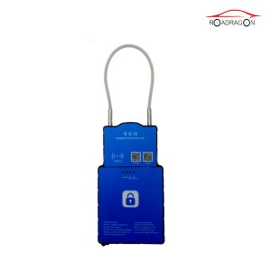 waterproof 3G gps secur padlock