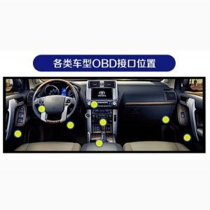 автомобіля OBD порт OBD GPS Tracker 06DX