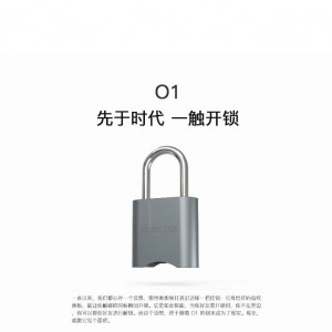 new design smart bluetooth and digital padlock