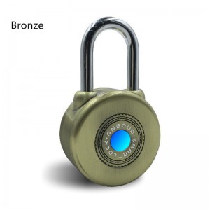 Smart Bluetooth Padlock for iOS Devices Androit Keyless Electronics Lock