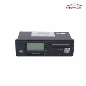 Best Long-adịgide Adịgide Battery Vehicle Njem Tracker Digital GPS Tachograph G-V301
