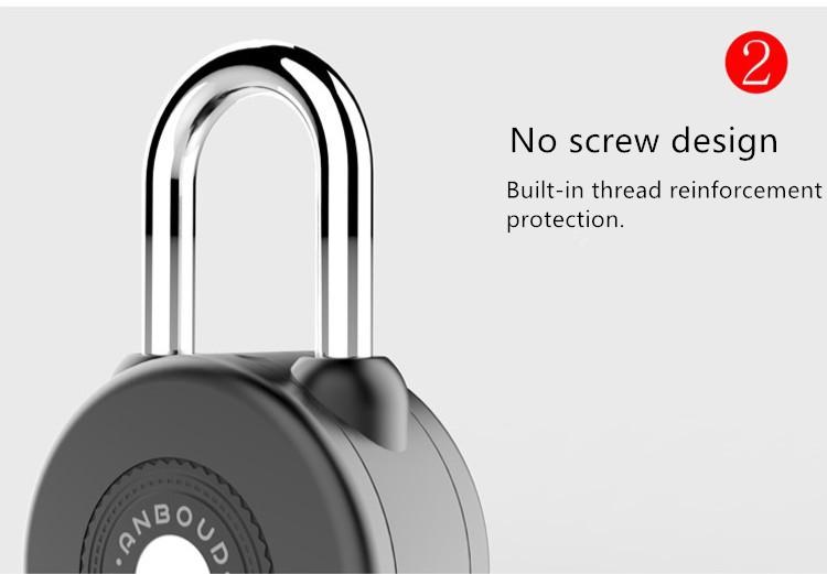 Best Price for Common Fleet Management System - Smart bicycle Moss code waterproof logistic Lock Bluetooth Control APP security lock – Dragon Bridge