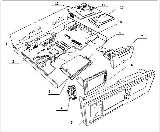 G-V301 tachograph structure