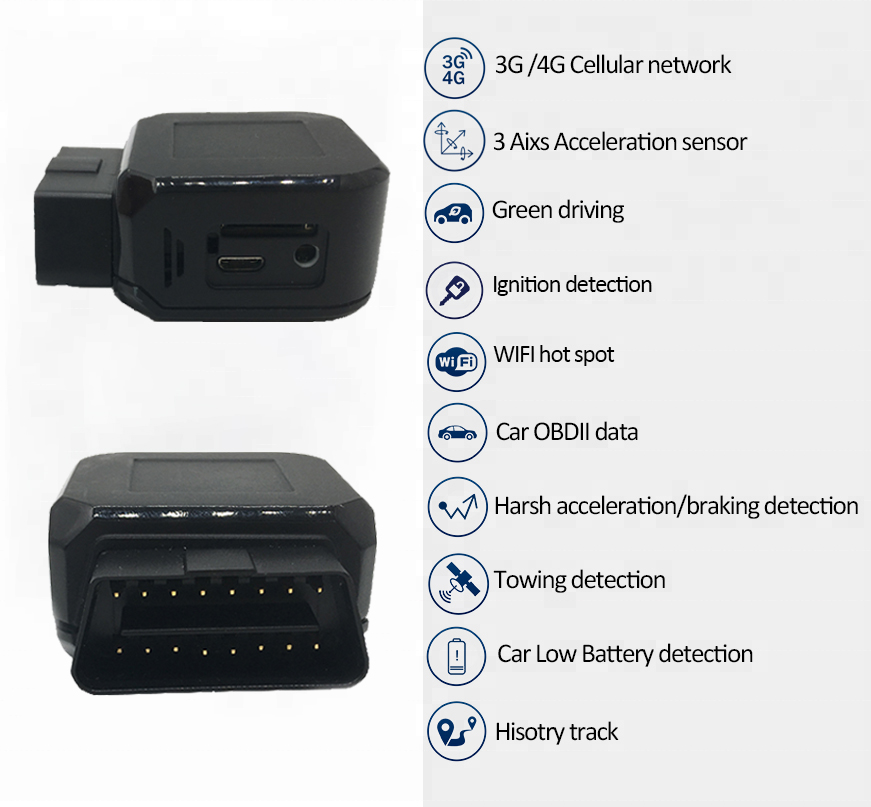 High Quality Obd Gps Tracker