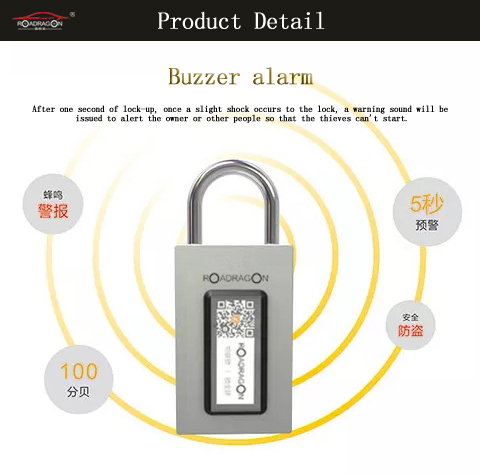 Ordinary Discount Track Your Vehicle With Gps - GSM padlock lock with gps external door lock with APP and system – Dragon Bridge