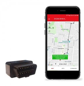 OBD GPS Tracker with fuel consumption and OBD II GPS Tracker GSM alarm system