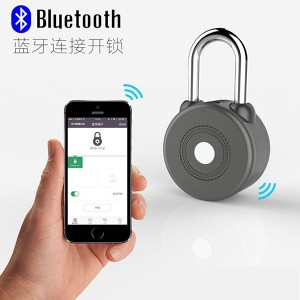 Smart bicycle Moss code waterproof logistic Lock Bluetooth Control APP security lock
