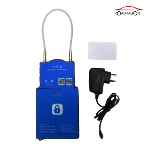 OEM Supply 3g Gsm Gps Padlock With Wireless Temperature Sensor For Cold Chain Management